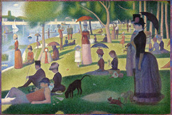 A Sunday on La Grande Jatte, 1884