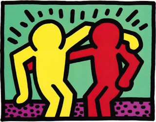 Keith Haring, Best Buddies, 1990