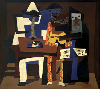 Pablo Picasso, The Three Musicians, 1921