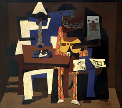 Pablo Picasso, The Three Musicians, 1921