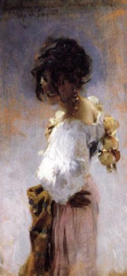 John Singer Sargent, Rosina Ferrara, 1878