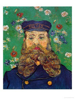 Vincent Van Gogh, Portrait of the Postman Joseph Roulin, 1888