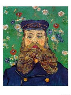 Vincent Van Gogh, Portrait of the Postman Joseph Roulin, 1888