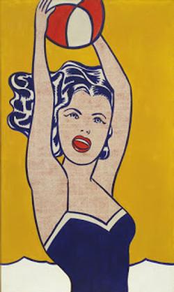 Roy Lichtenstein, Girl with Ball, 1961
