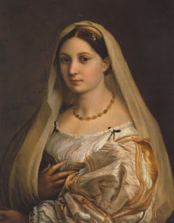 Raphael, La Donna Valeta,  circa 1516