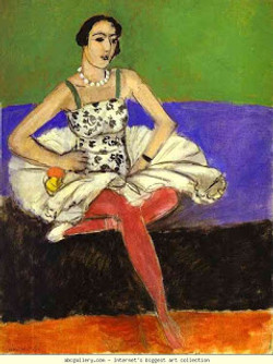 Henri Matisse, The Ballet Dancer, 1927