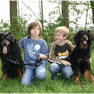 Meine Jungs mit Aljano und Aimara