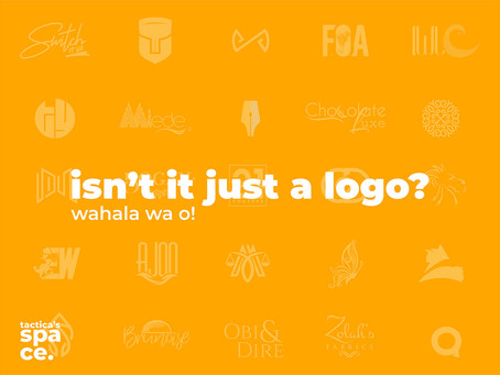 Isn't It Just A Logo? A Letter to All & Sundry