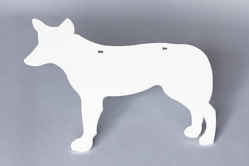 3/8'' Coyote Silhouette