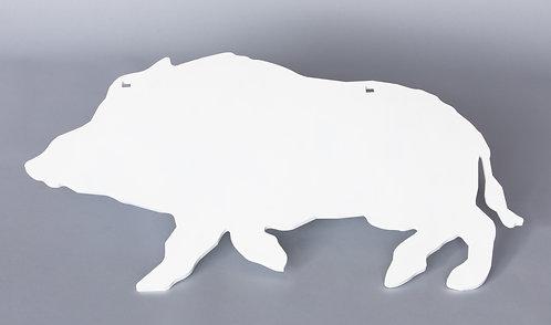 3/8'' Wild Boar Silhouette