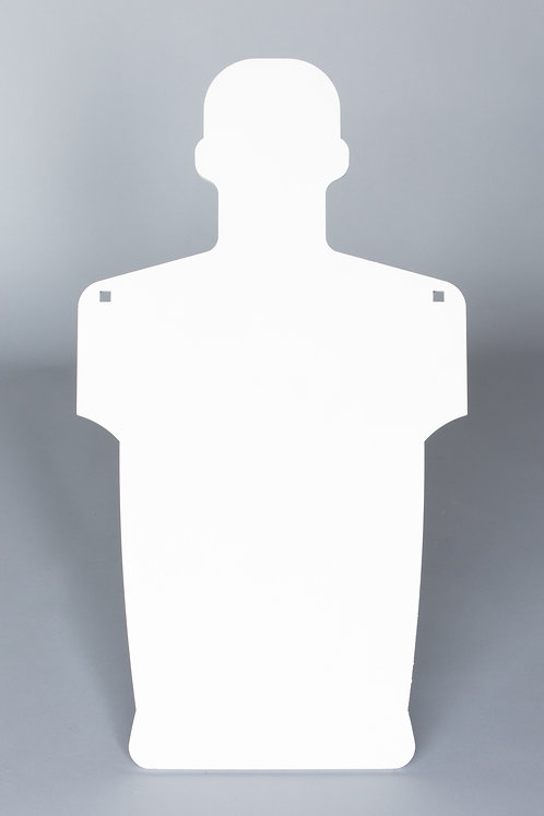 3/8''x 2/3 / Humanoid Silhouette / Shoulder Holes