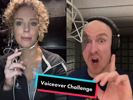 The TikTok Voice over challenge......