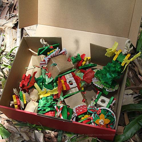 Xmas Parrot Gift Hamper - Small