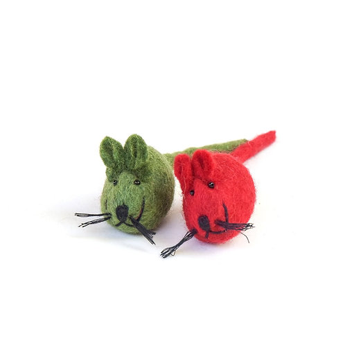 Red & Green Mice
