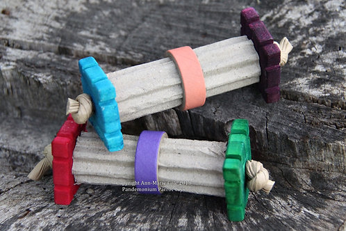 Roller Bagel Foot Toy