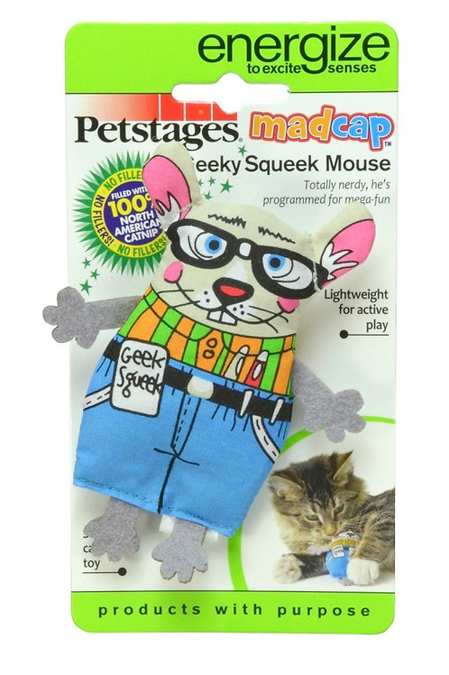 Madcap Geeky Mouse - Pet Stages