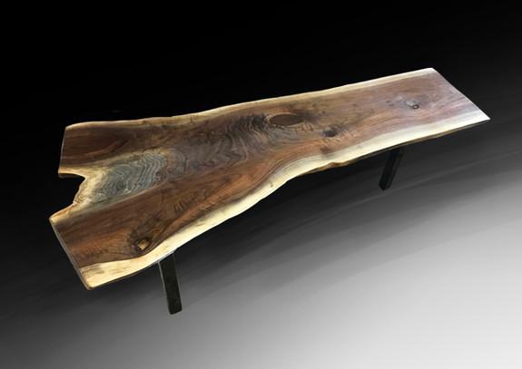 Live edge coffee table/bench