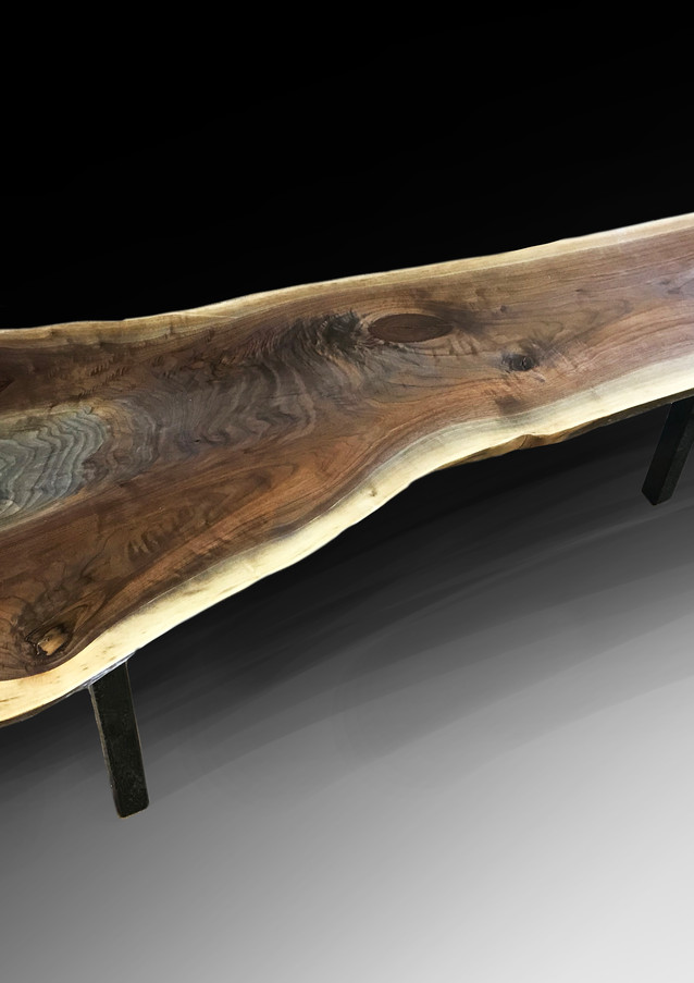 Live edge coffee table/bench