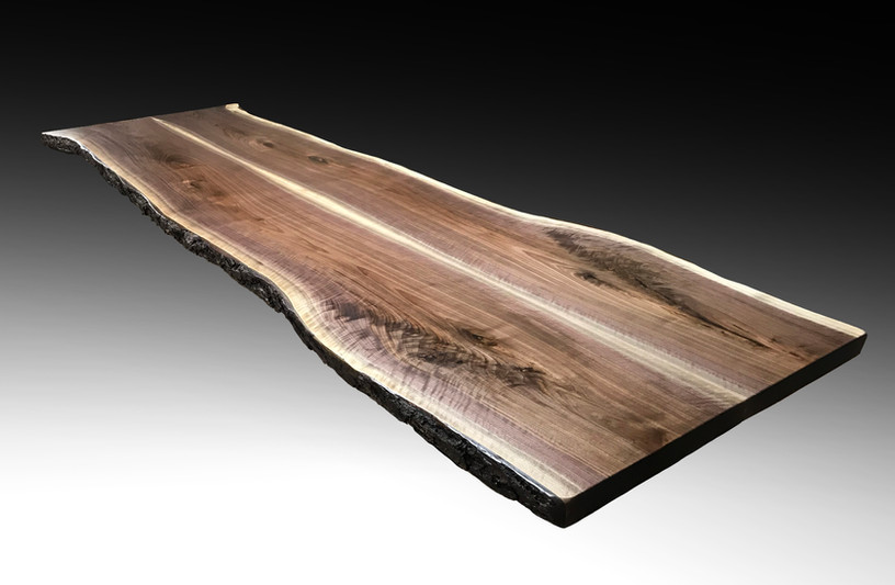 Bookmatch Live Edge Dining/Conference Table Slab