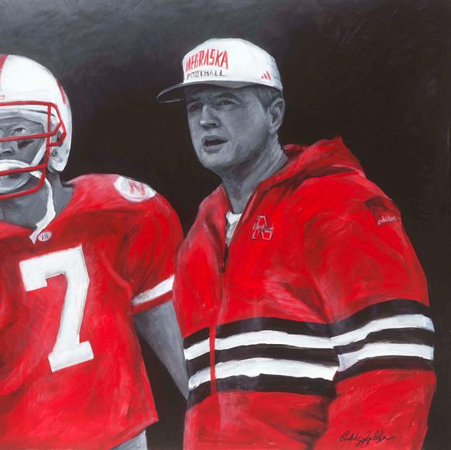 Tom Osborne and Scott Frost
