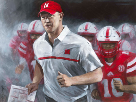 Process of 'The Return' Scott Frost Painting