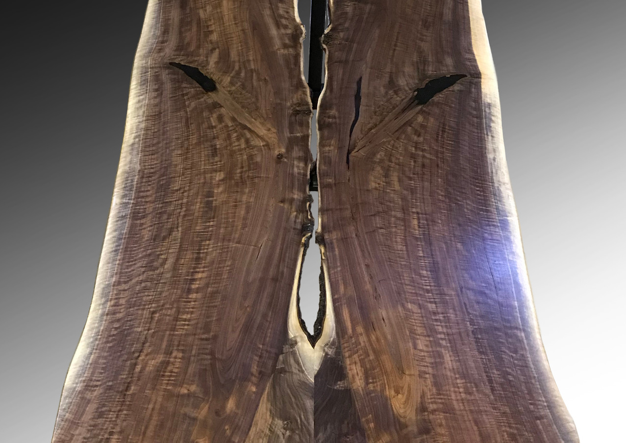 Kissing Bears - Live Edge Dining or Conference Table
