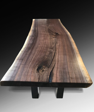 SOLD Live Edge Dining or Conference Table