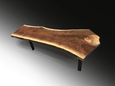 SOLD Live Edge Coffee Table or Bench