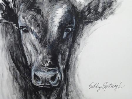Live Painting at Cattlemen's Ball of Nebraska 2016