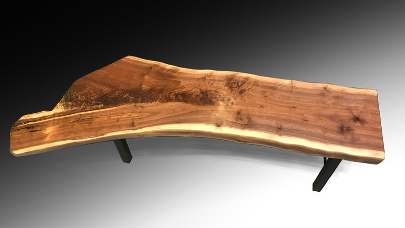 Live Edge Bench or Coffee Table