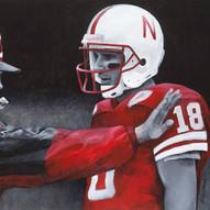 Tom Osborne and Brook Berringer