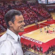 Coach Cook-Nebraska Volleyball