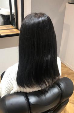 髪質改善トリートメントBefore