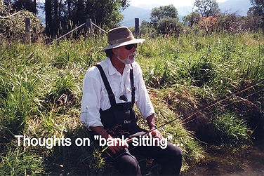 """""""bank sitting"""""""