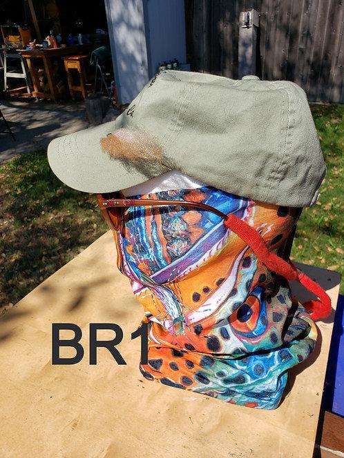 BR1 Neck Gaiter - Brown Trout