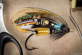 Jock Scott Salmon Fly