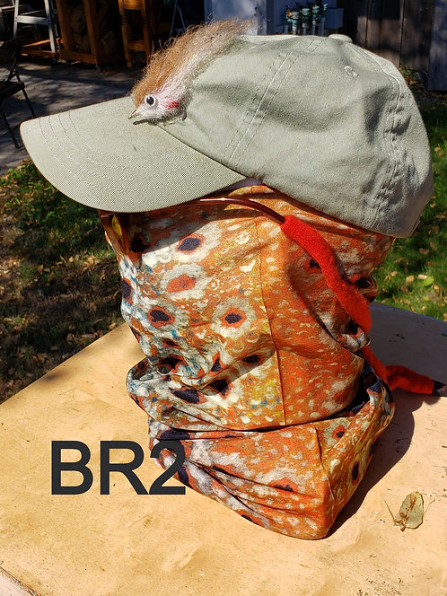 BR2 Neck Gaiter - Brown Trout