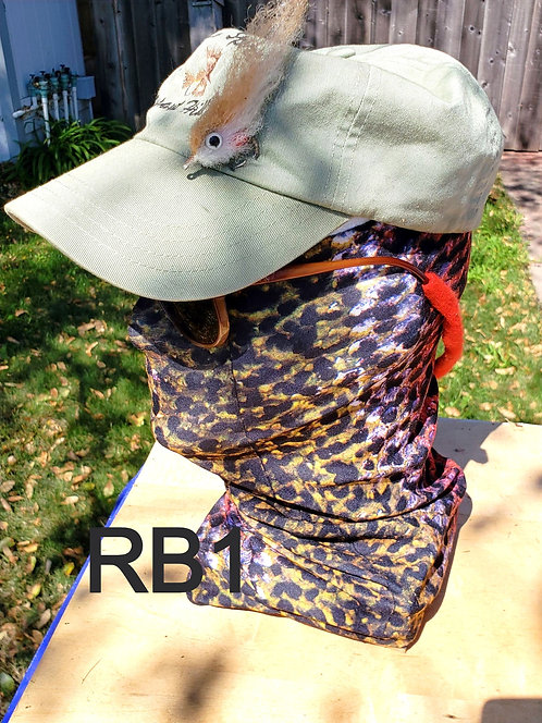 RB1 Neck Gaiter - Rainbow trout