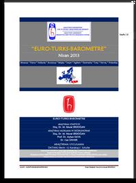 EURO-TURKS BAROMETRE 2013