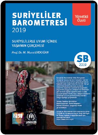 SURİYELİLER BAROMETRESİ 2019 - Yönetici Özeti