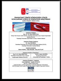 Fransa'daki Türkiye Kökenlilerin Güncel Konulardaki Görüş ve Düşünceleri Araştırması
