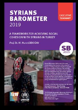 SYRIANS BAROMETER 2019 - Executive Summary