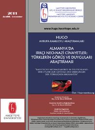 Almanya'da Irkçı Neo-Nazi Cinayetler: Türklerin Görüş Ve Duyguları Araştırması