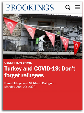 Turkey and COVID-19: Don't forget refugees