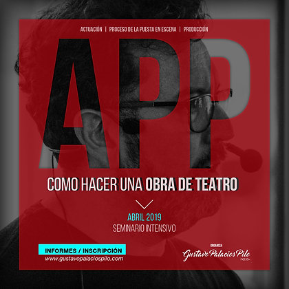 A.P.P. Como hacer una obra de teatro