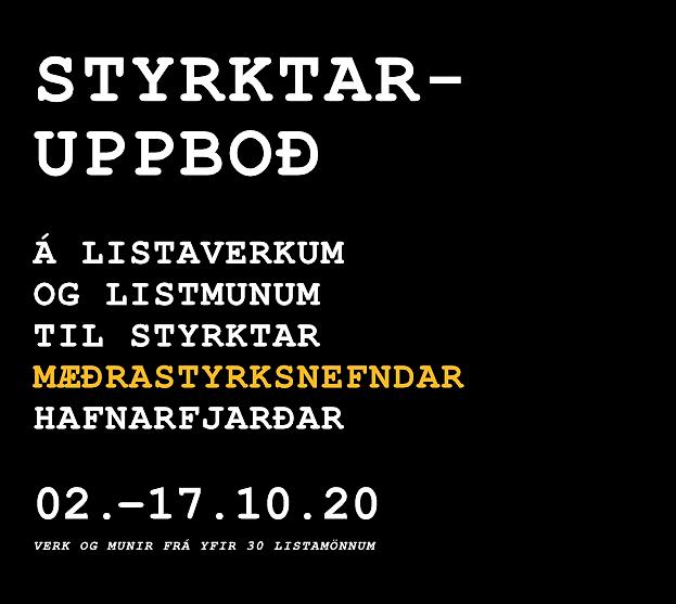 Styrktaruppboð / Mæðrastyrksnefnd