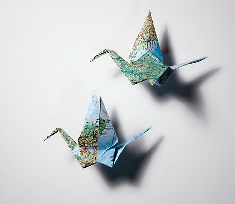 Wall Cranes - Pair