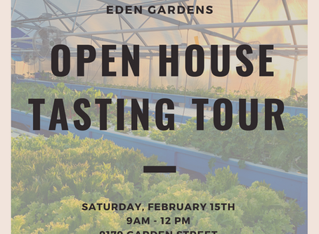 Open House Tasting at the Farm