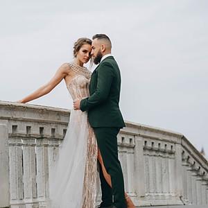 Весільна зйомка у Венеції. Італія