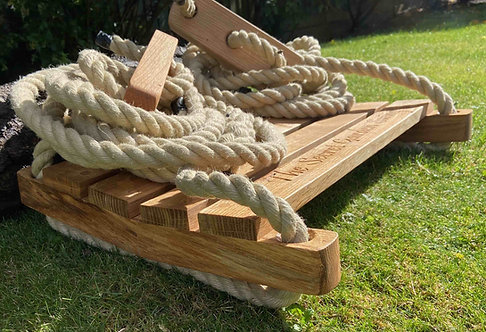 Oak sledge swing